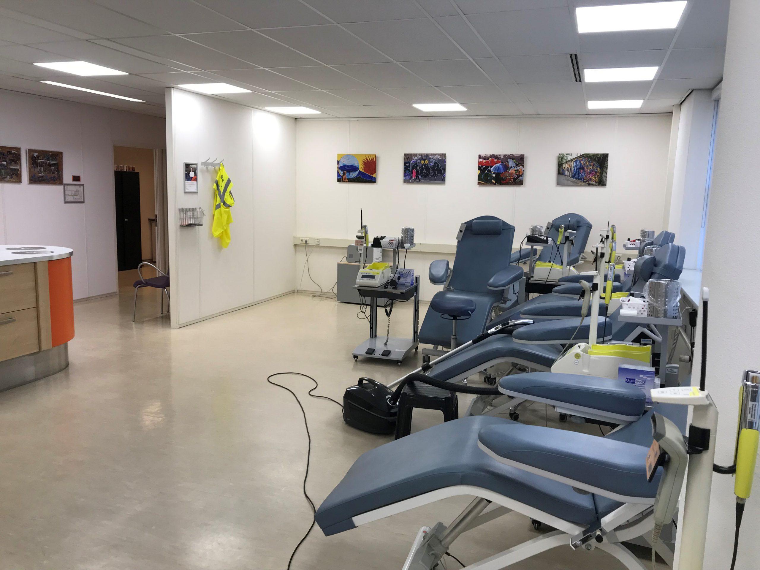 Sanquin Hoorn – LED verlichting 'werkplek'
